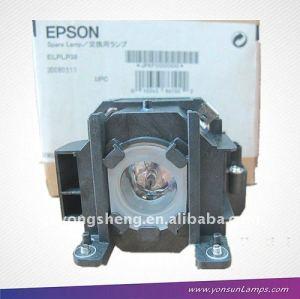 Lampe de projecteur pour elplp38 emp-1700 ampoule du projecteur