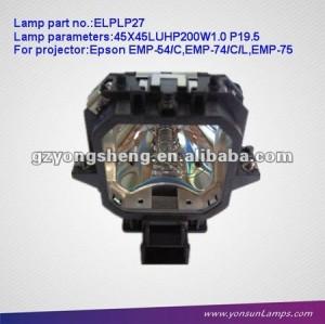 Lampe pour projecteur lcd elplp27 emp-54 fit pour projecteur