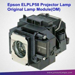 Elplp58 originale lampe de projecteur pour tx419 eb-x10 projecteur.
