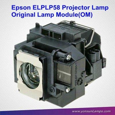 Elplp58 original projektorlampe für epson eb-x10 projektor