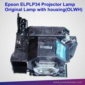 Elplp34/v13h010l34 originale lampe de projecteur module adapté pour epson emp-82