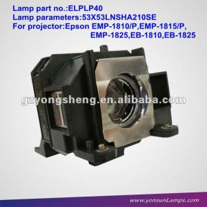 Lampe de projecteur original elplp40 for emp-1810/emp-1815 projecteur.