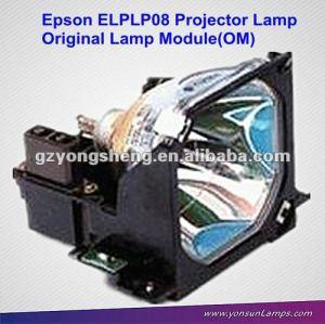 Lampe de projecteur original elplp08 apte à emp-8000, emp-9000