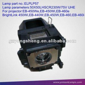 Lampe/ampoule du projecteur ELPLP57 (V13H010L57) pour EB-460