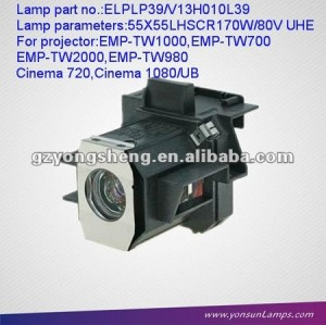 Lampe de projecteur elplp39 for projectoremp- tw1000