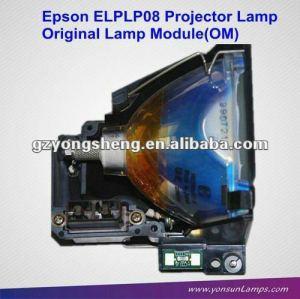 Elplp08 lampe de projecteur avec le logement utilisé pour emp-9000