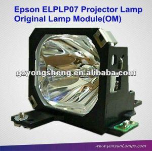 Lampe de projecteur pour le projecteur elplp07 emp-5550/emp-7550