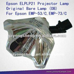 Lampe nue de projecteur ELPLP21/V13H010L21 pour EMP-53