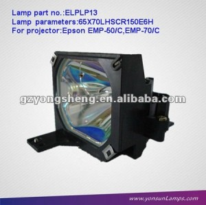 ELPLP13 / V13H010L13 compatible projector lamps for EMP-50