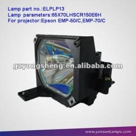 Elplp13/v13h010l13 lámparas de proyectores compatibles para emp-50