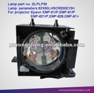 Lampe pour projecteur lcd projecteur elplp30 emp-61/p
