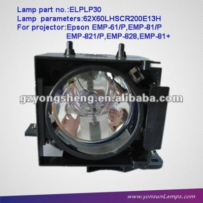 Lcd projektor lampe für projektor elplp30 emp-61/p