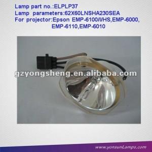 Elplp37/v13h010l37 compatible lampe nue pour emp-6000 projecteur.
