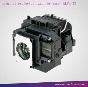 Lampe ampoule lampe de projecteur elplp33 apte à emp-s3 projecteur.