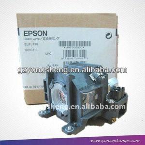 Lampe de projecteur epson elplp38 v13h010l38 apte à tx419 emp-1700