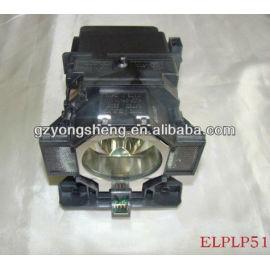 La lámpara del proyector con la vivienda para elplp51 eb-z8000wu/z8050w