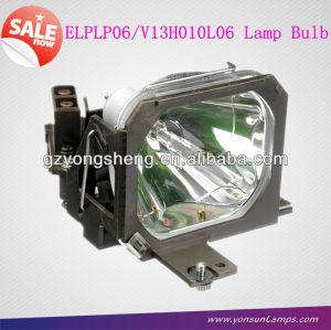Elplp06/v13h010l06 for emp-5500/emp-7500 projecteur. uhp120w tx419 lampes de projecteur
