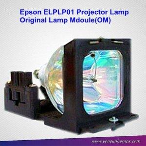 Elplp01 ampoule lampe de projecteur avec le logement pour projecteur. elp-3500