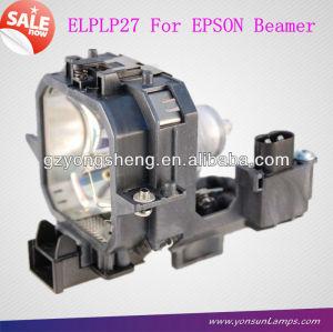 Lampe de projecteur original elplp27 v13h010l27 sapin pour emp-74 projecteur epson