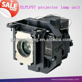 Para epson de reemplazo de la lámpara del proyector elplp57/v13h010l57