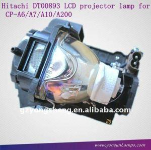Lampe pour projecteur hitachi dt00893 hcp-a7 projecteur.