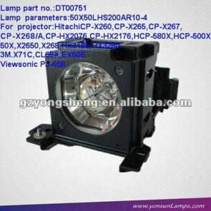 Dt00751 4333469 cp-x260 projecteur lampe de projecteur hitachi