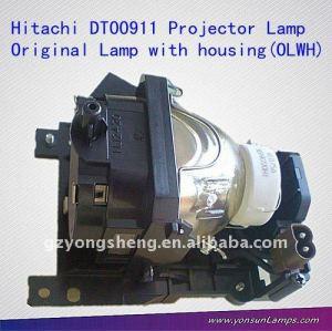 Lampe de projecteur hitachi dt00911 hcp-x90 projecteur. ajustement pour hitachi