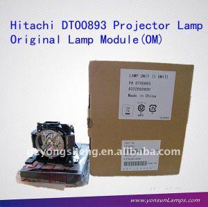 Lampe de projecteur hitachi dt00893 hcp-a 6, cp-a52, cp-a200; ed-a101, ed-a111, hcp-a10, hcp-a7