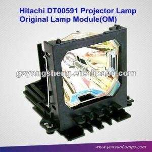 Lampe de projecteur hitachi dt00591 ajustement pour 3m x70 projecteur.