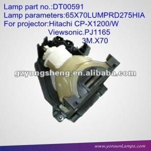 La lámpara del proyector dt00591 para cp-x1200