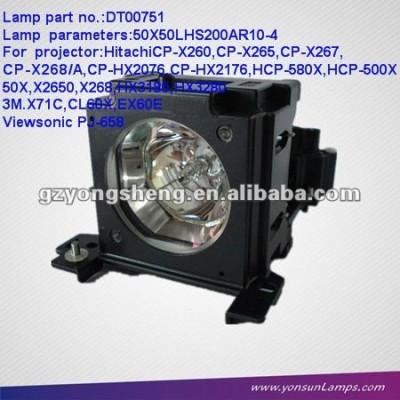 Dt00751 projektorlampe mit gehäuse für cp-x260/cp-x265