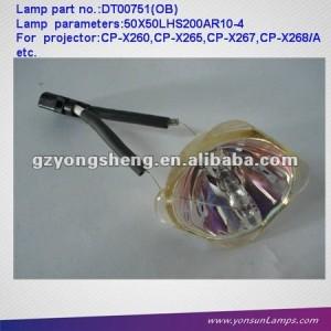 Lámparas del proyector dt00751 sin vivienda para el proyector hcp- 500x( ob)
