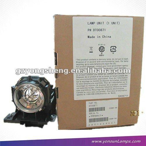 Para dt00871 cp-x615/x705/x807 de modelo del proyector