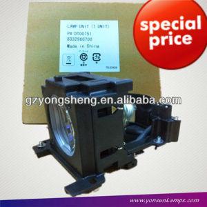 La lámpara del proyector para dt00751 cp-x260w hitachi proyector