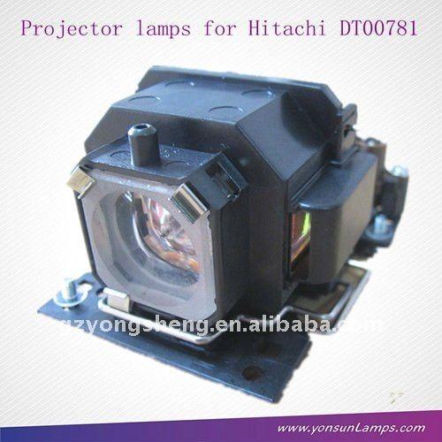 Dt00781 original lampe mit gehäuse für hitachi cp-x 1, cp-x 2, cp-x253, cp-rx70