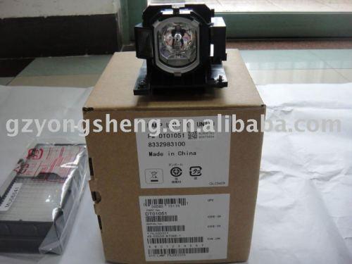 Dt01051 projektorlampe für hcp-4000x, cp-x4020 hustem. Mvp-e40