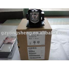 Lámpara del proyector hitachi dt01051 hcp-4000x para la lámpara