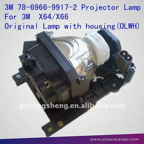 78-6966-9917-2 para 3m x64/x66 lámpara del proyector