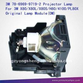78-6969-9719-2 para 3m lámpara del proyector x80l/mp4100/h80/x80