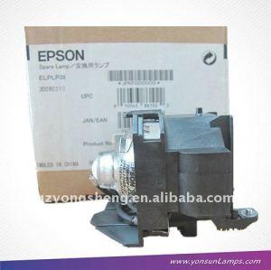 Elplp38 proyector de la lámpara del proyector emp-1705c