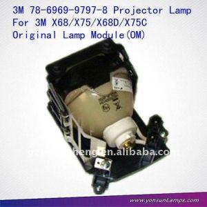Proyector de la lámpara del módulo 78-6969-9797-8 traje para 3m x68/x75 proyector