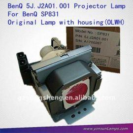 5j. J2a01.001 lámpara del proyector benq benq para sp831