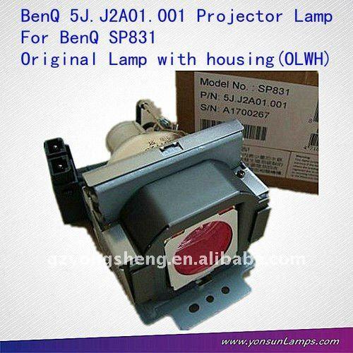 5j. J2a01.001 benq projektorlampe für benq sp831