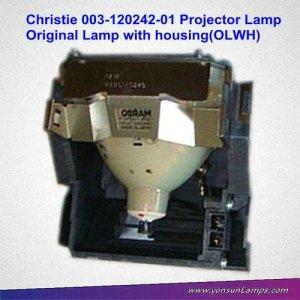 Para christie 003-120242-01 lámpara del proyector original con la vivienda