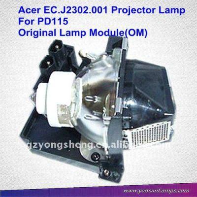 Für acer projektor leuchtmittel ec. J2302.001 pd116p acer projektor