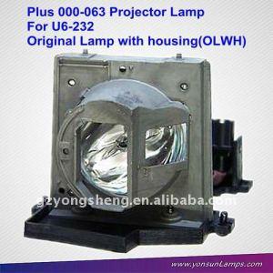 Además de para 000-063 u6-232 lámpara del proyector