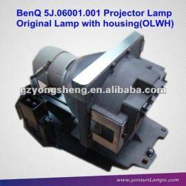 Para benq 5j. 06001.001 proyector de la lámpara para mp612/c, mp622/c