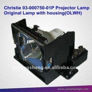 Para christie 03-000750-01p lámpara del proyector lx37, lx45, lx37 vivo, lx45 vivo