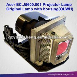 Oem para la lámpara del proyector original con la vivienda acer ec. J5600.001 lámpara del proyector