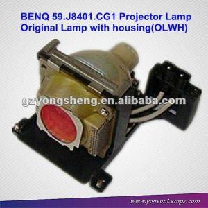 Para benq 5 9. j840 1. cg1 lámpara del proyector apto para benq pb7100 proyector